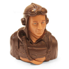 JET PILOTS 1/5 BROWN (68g)