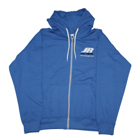 JR PROPO BLUE ZIPPED HOODIE (XL)