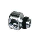 Muffler right angle adaptor M12