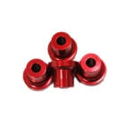 STAND OFF-15mm (5mm,10-24 hole) (RED)