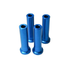 STAND OFF-45mm (6mm,1/4in hole) (BLUE)
