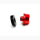 WING BOLTS M6 (steel) (RED)