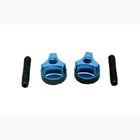 WING BOLTS M6 (steel) (BLUE)