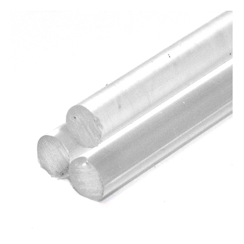 1m x 10mm Diameter Cast Acrylic Rod