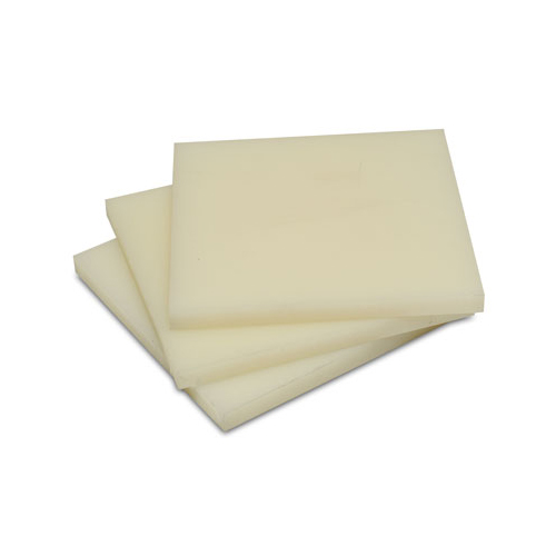 300mm x 150mm x 6mm thick Natural Nylon